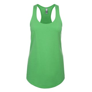 Blast Girls' Kelly Green Polyester Jersey Tank