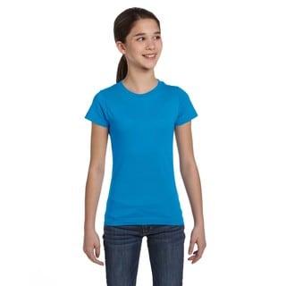 Fine Girls' Jersey Cobalt T-Shirt
