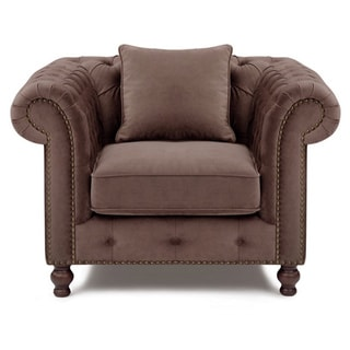 Luca Brown Fabric Home Chair