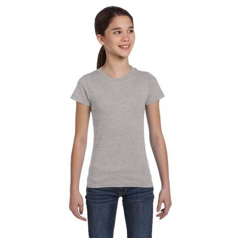 Fine Girls' Heather Jersey T-shirt