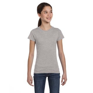 Fine Girls' Heather Jersey T-shirt