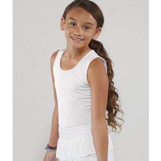 Fine Girl's White Jersey Tank|https://ak1.ostkcdn.com/images/products/12178731/P19029137.jpg?impolicy=medium