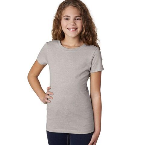 Next Level Girls' Silk The Princess CVC T-Shirt