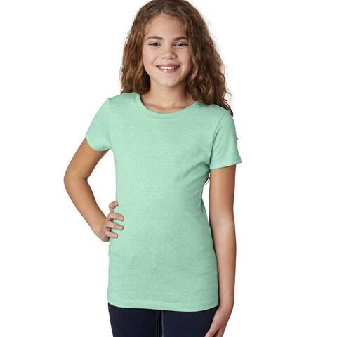 Next Level Girls' Mint The Princess CVC T-Shirt