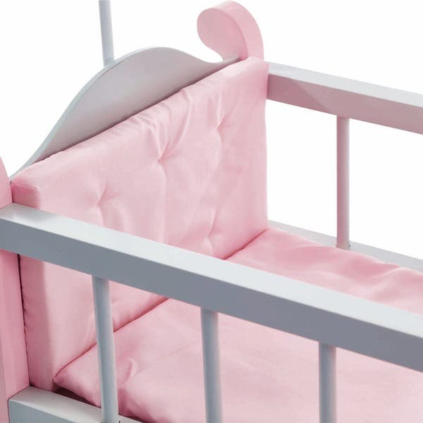 Nursery Crib Bed With Storage