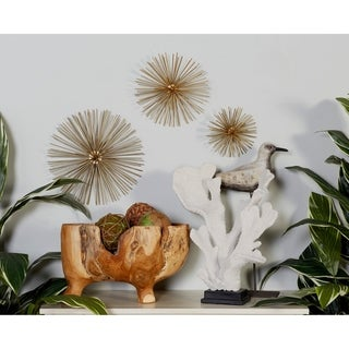 Link to Set of 3 Contemporary 6, 9, and 12 Inch Star Wall Decor by Studio 350 Similar Items in Wall Sculptures