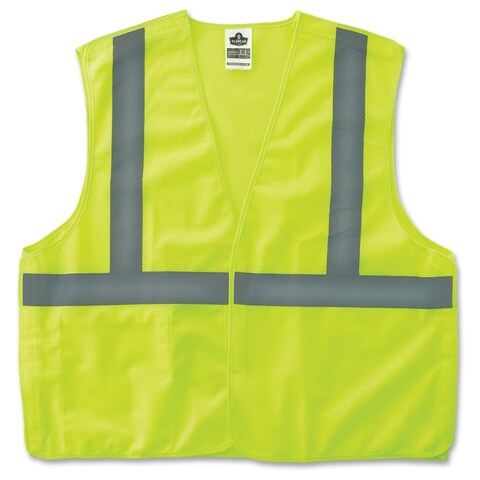 GloWear Lime Econo Breakaway Vest - (1 Each)