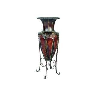 Tuscany Style Metal Vase