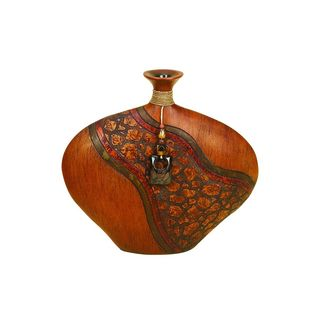 The Curated Nomad Belli Brown Polysteone Vase