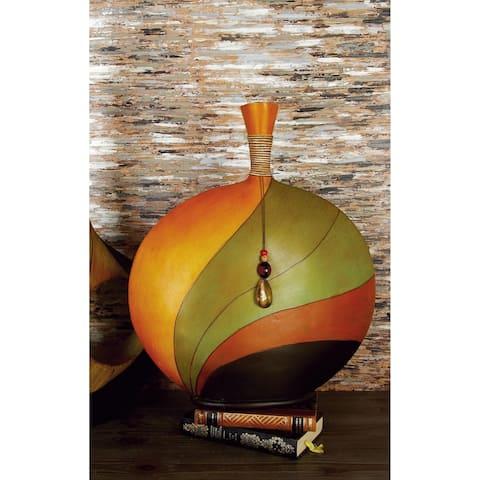 Strick & Bolton Buri Multi-colored Vase