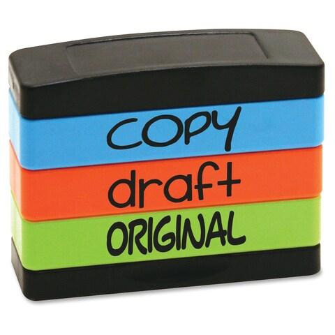 U.S. Stamp & Sign Copy Message Stamp Set - Assorted