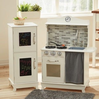 Teamson Kids Sunday Brunch White Wooden Play Kitchen