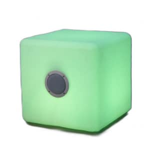 Bellini 16-inch LED Cube with Blue Tooth Speaker