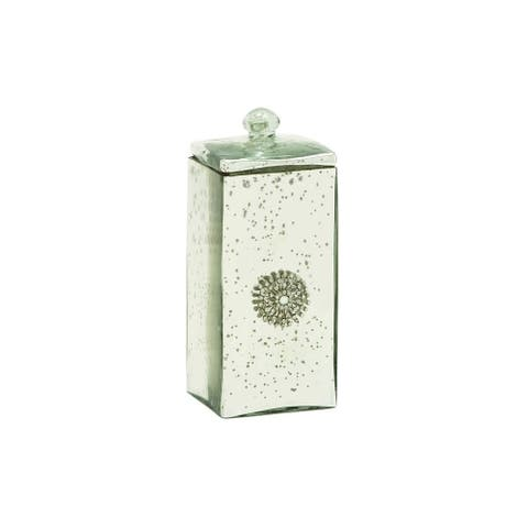 The Curated Nomad Jiminez Glass 4-inches Wide x 10-inches High Box