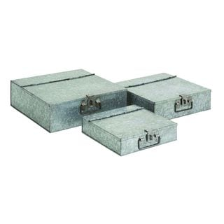 Galvanized Metal 10, 12, 14 Inch Boxes