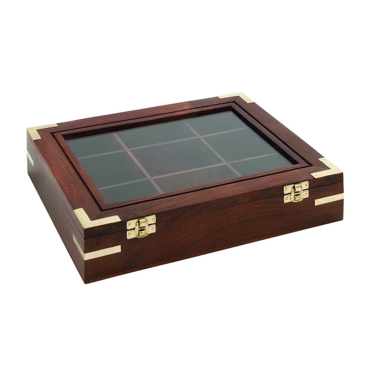 Wood Glass Box