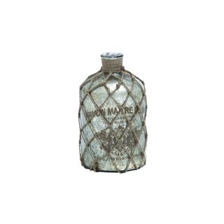Glass 12-inch High x 7-inch Wide Bottle