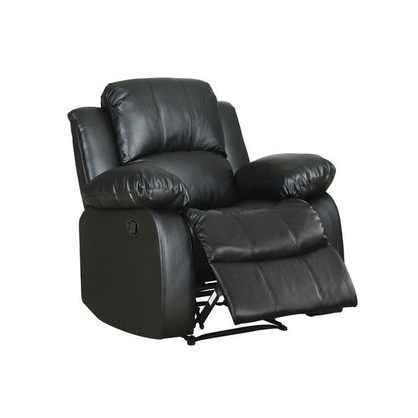 Shop Classic Oversize And Overstuffed Single Seat Bonded Leather
