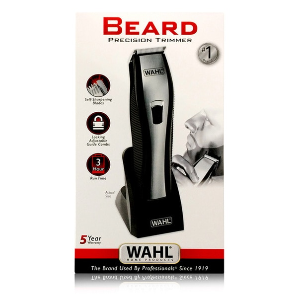 wahl lithium ion beard stubble trimmer free shipping on orders over 45. Black Bedroom Furniture Sets. Home Design Ideas