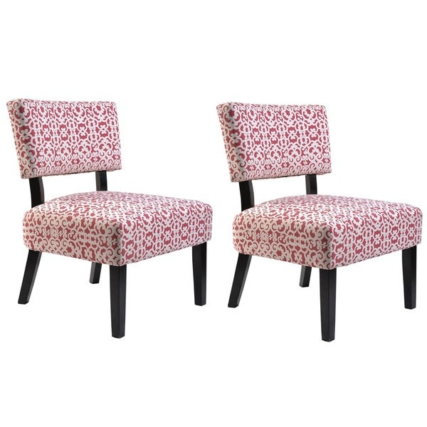 Shop Charlotte Fabric Accent Chair With Solid Wood Legs