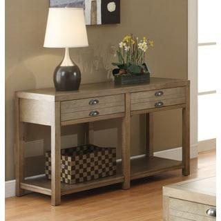 Coaster Brown Drift Wood Sofa Table