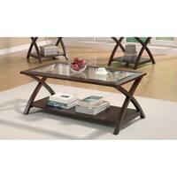 Coaster Company Cappuccino Coffee Table