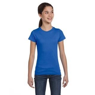 Fine Girl's Jersey T-Shirt Royal