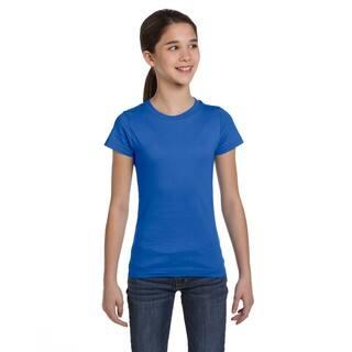 Fine Girl's Jersey T-Shirt Royal|https://ak1.ostkcdn.com/images/products/12179447/P19030025.jpg?impolicy=medium