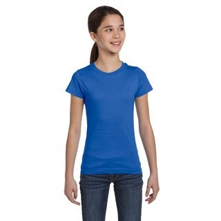 Fine Girl's Jersey T-Shirt Royal