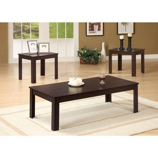Contemporary End Tables and Coffee Table Set