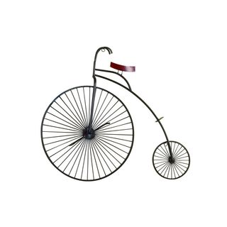 Vintage Reflections Rustic Iron Penny-farthing Bicycle Wall Sculpture