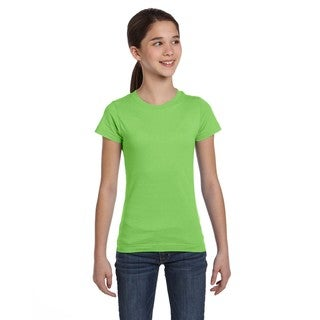 Fine Girls' Key Lime Jersey T-Shirt