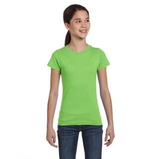 Fine Girls' Key Lime Jersey T-Shirt