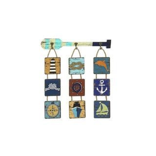 Wooden Rope Wall Decor (27-inchH x 26-inchW)