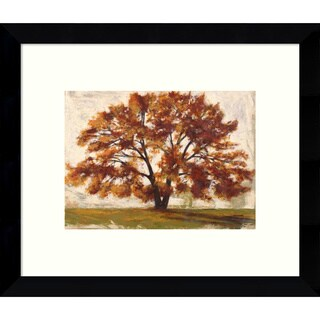 Framed Art Print 'Mattino I: Tree' by Leonardo Bacci 11 x 9-inch