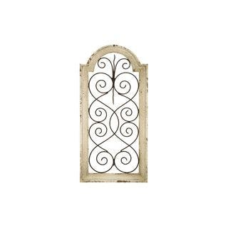 Rustic Distressed Ivory Wash Wood Arched Wall Panel|https://ak1.ostkcdn.com/images/products/12179504/P19030043.jpg?impolicy=medium