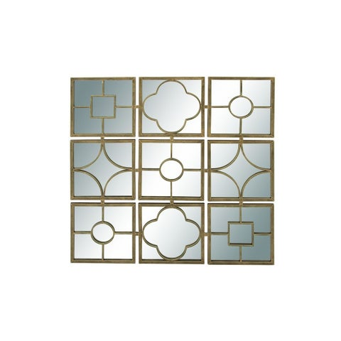 Metal Mirror 49-inch x 49-inch Wall Decor