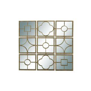 Metal Mirror 49-inch x 49-inch Wall Decor
