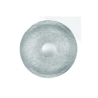 Stainless Steel 37-inch Diameter Wall Decor