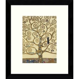 Framed Art Print 'The Tree of Life IV' by Gustav Klimt 9 x 11-inch