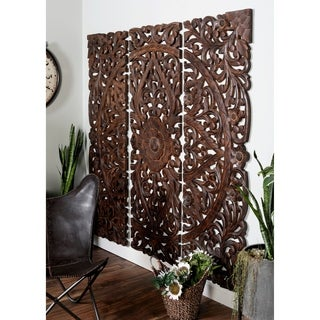Wood 71 Inches High x 24 Inches Wide Wall Panel (Set of 3)