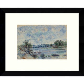 Framed Art Print 'Landscape at Pont-Aven' by Pierre-Auguste Renoir 11 x 9-inch