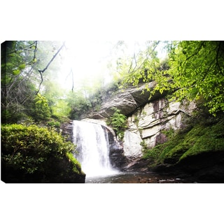 P.T. Turk 'Waterfall View I' Landscape Photography Wall Art