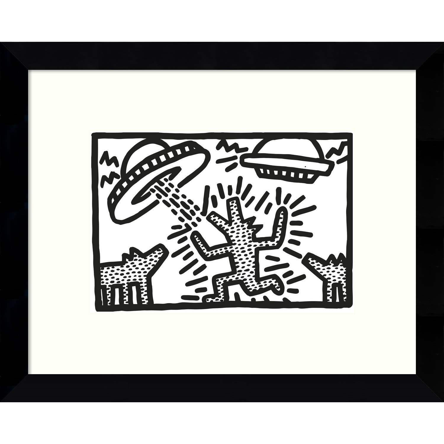 Buy framed prints online at our best art - Keith haring shower curtain ...