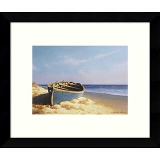 Framed Art Print 'Sunset (Beach)' by Zhen-Huan Lu 11 x 9-inch