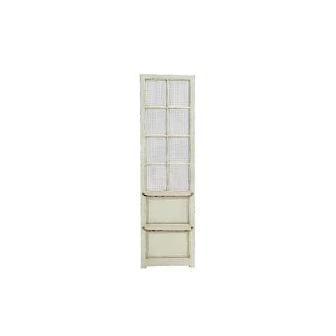 Wood Metal 18-inch-wide 68-inch-high Wall Panel