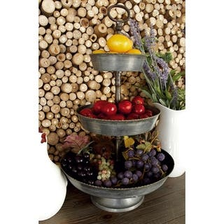 Metal Galvinized Serving Tray|https://ak1.ostkcdn.com/images/products/12179637/P19030074.jpg?impolicy=medium