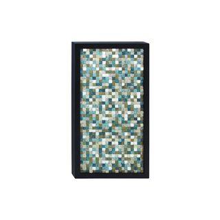Mosaic Wood 51-inch Wide x 28-inch High Framed Wall Art