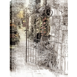 Hobbitholeco. P.T.Turk 'Open The Gates' 18-inch x 24-inch Ready-to-hang Gallery-wrapped Landscape Photography Wall Art
