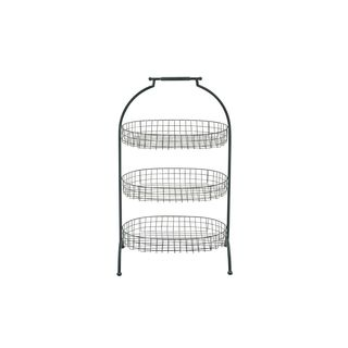Metal Wire Basket 3-tier Tray